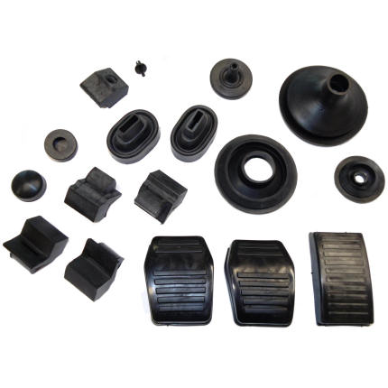 Escort MK2 Complete Rubber Parts Set - 24 Pcs