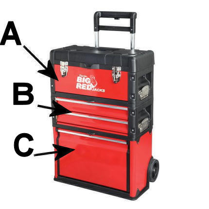 Big Red Trolley Tool Box